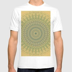 Ornament Groovesky Mens Fitted Tee White MEDIUM