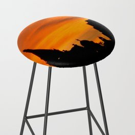 London Sunset in sillouette bywhacky Bar Stool