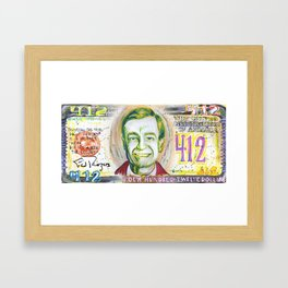 Four Hundred Twelve Dollars Framed Art Print