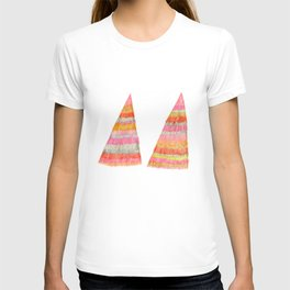 shaggy  triangle T-shirt