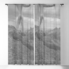 One Nature Sheer Curtain
