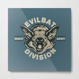 Evil Bat Division Metal Print