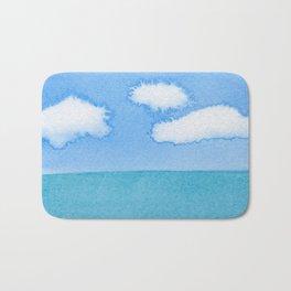 The Three Cloud Amigos Bath Mat