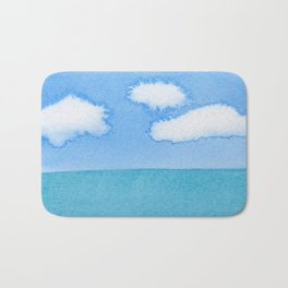 The Three Cloud Amigos Bath Mat