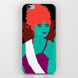 Miss Argentina Portrait iPhone Skin