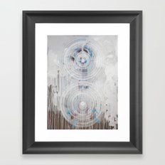Your Will Be Done On Earth As In Heaven | Feedback Painting Framed Art Print