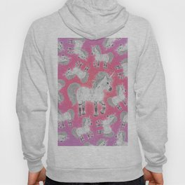 Unicorns Pink Hoody