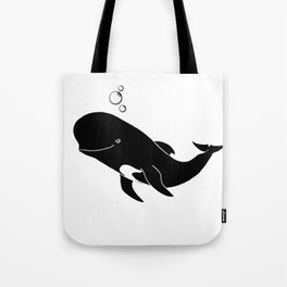 Short-finned pilot whale Tote Bag