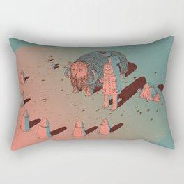 The Bison #2 Rectangular Pillow