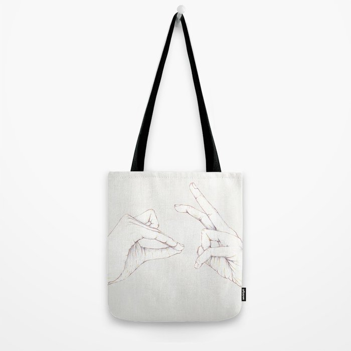 The Hair and the Tortoise Tote Bag