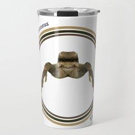 Tan Jumper Travel Mug