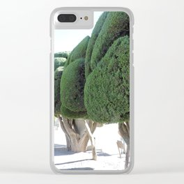 Dr. Suess Trees Clear iPhone Case