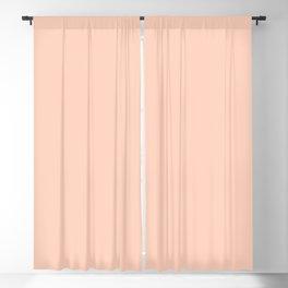 Romantic Pale Peach Blackout Curtain