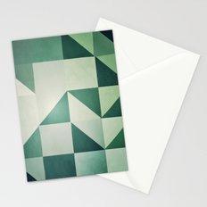 :: geometric maze x :: Stationery Cards