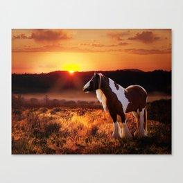 Gypsy Sunset Canvas Print