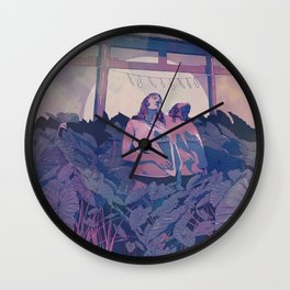 Daydreaming Wall Clock