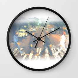 John, Paul, George, Ringo Wall Clock