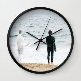 When You Were Here Wall Clock