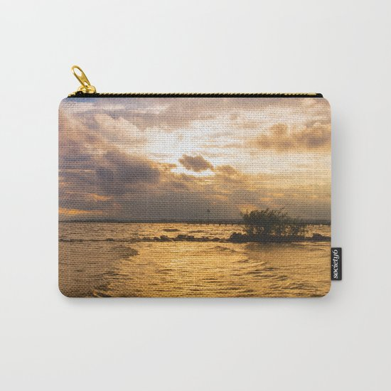 Weather over the lake Carry-All Pouch