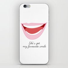 favourite smile iPhone & iPod Skin