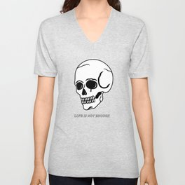 Love Is Not Enough Unisex V-Neck