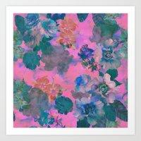 Le Fluer Fushia Art Print