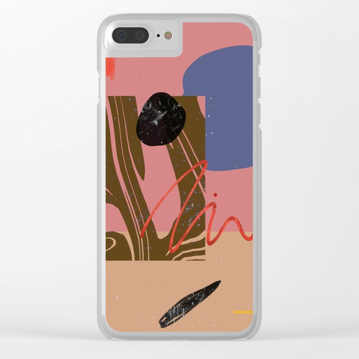 WM Clear iPhone Case