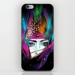 Femina Nebulae iPhone Skin