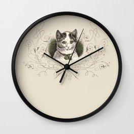 ROMANTIC KITTY  Wall Clock