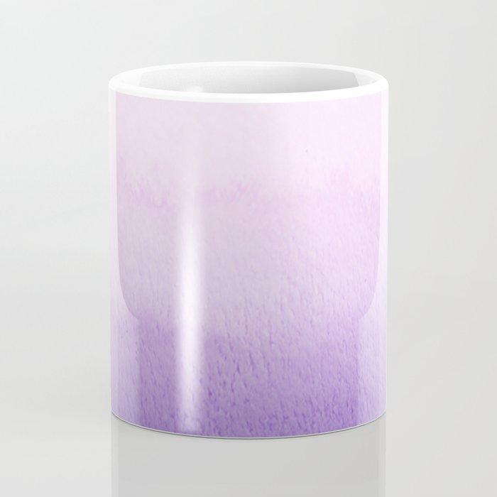 Purple Watercolor Design Coffee Mug