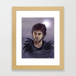 Will Graham - Ladyhawke AU Framed Art Print
