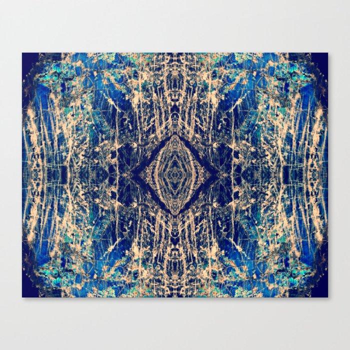 Labradorite Mineral Canvas Print
