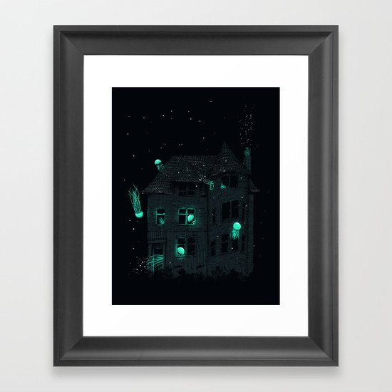 A New Home Framed Art Print