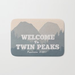 Welcome to Twin Peaks v2 Bath Mat