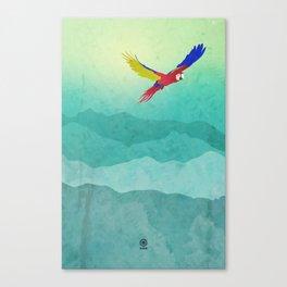 Macaw (Guacamaya) Canvas Print