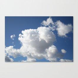 Feasting Cloud Canvas Print