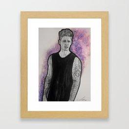 Justin - Under The Stars Framed Art Print
