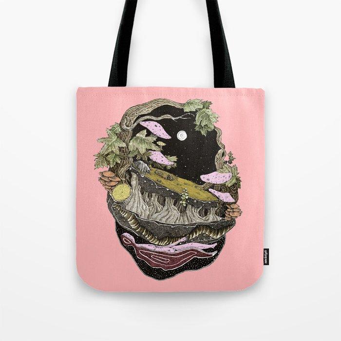narute pink back Tote Bag