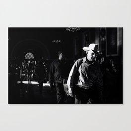 The Cowboy Canvas Print