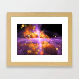 Sea Of Stars Framed Art Print