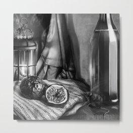 Passion Fruit & Shrew Metal Print