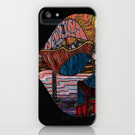 Oriental Houses  iPhone Case