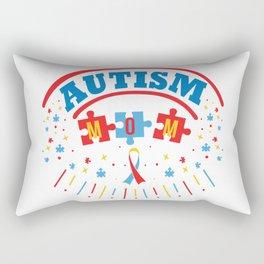 Autism Mom Autistic Awareness Day Asperger Gift Rectangular Pillow