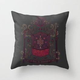 Born in Blood Throw Pillow