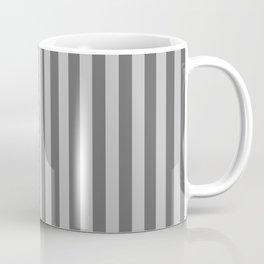 Silver Stripes Pattern Coffee Mug