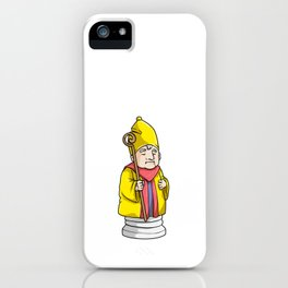 Bishop Chess piece at Chess iPhone Case
