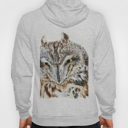 Short-Eared Owl by Teresa Thompson Hoody