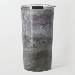 foil cloud wrinkle structured surface Travel Mug
