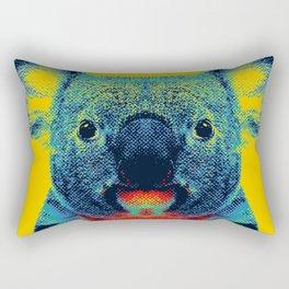 Koala Yellow Animal Rectangular Pillow