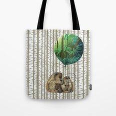Monkey Balloon Dreams Tote Bag